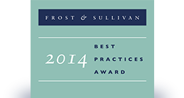 2014 Frost & Sullivan Best Practices Award