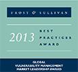 2013 Global Vulnerability Management Market Leadership Award