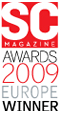 SC Magazine Awards 2009 Europe Winner