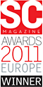 SC Magazine Awards 2011 Europe Winner