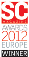 SC Magazine Awards 2012 Europe Winner
