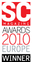 SC Magazine Awards 2010 Europe Winner