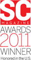 SC Magazine Awards 2011 Winner