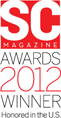 SC Magazine Awards 2012 Winner