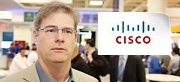 video screenshot of customer testimonial video from Cisco