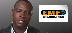 video screenshot of customer testimonial video from EMF Broadcasting