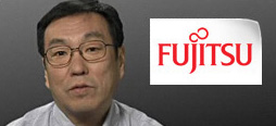 video screenshot of customer testimonial video from Fujitsu