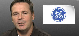 video screenshot of customer testimonial video from GE