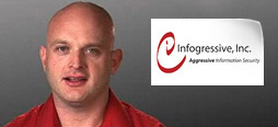 video screenshot of customer testimonial video from Infogressive