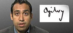 video screenshot of customer testimonial video from Ogilvy & Mather