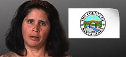 video screenshot of customer testimonial video from Santa Clara County