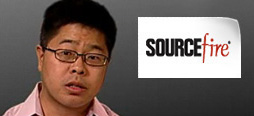 video screenshot of customer testimonial video from Sourcefire