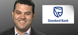 video screenshot of customer testimonial video from Standard Bank