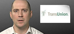 video screenshot of customer testimonial video from TransUnion