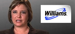 video screenshot of customer testimonial video from Williams Natural Gas