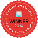Information security Winner 2014 Reader's Choice Awards