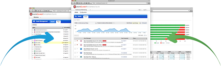Qualys screen shots