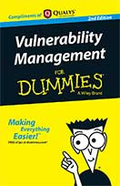 Vulnerability Management for Dummies eBook