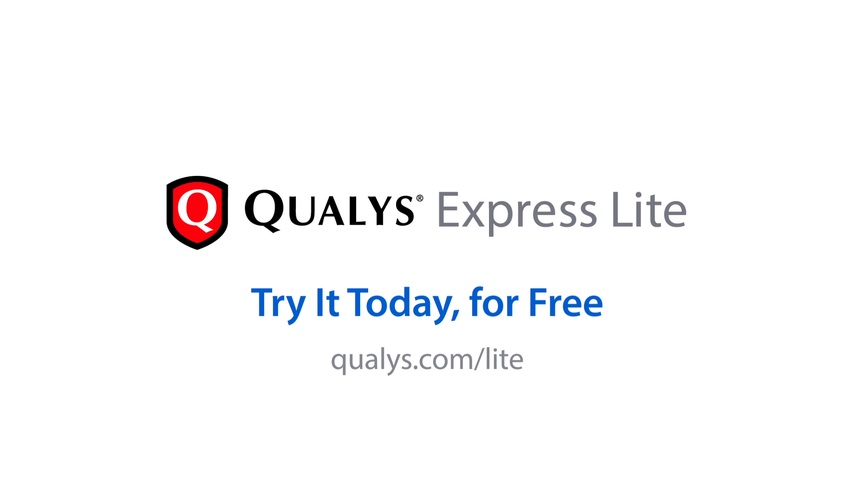 QualysGuard Express Lite for SMB Video