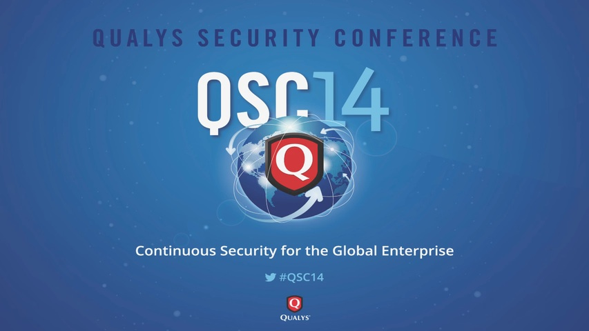 QSC 2014 - Solution Session - Using Splunk to Visualize Security and Events Data
