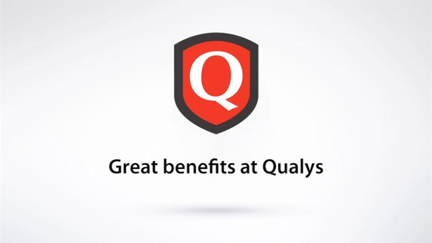 Great benefits at Qualys