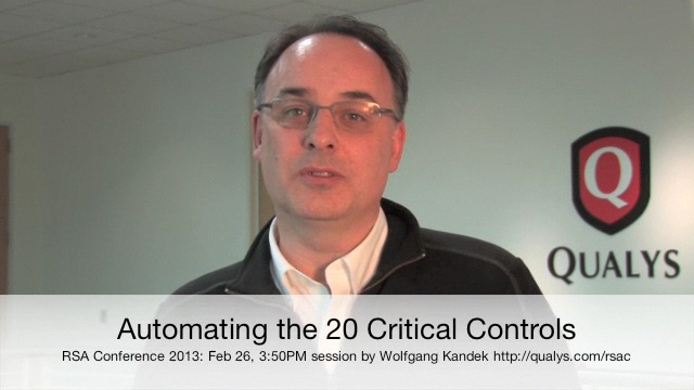 Automating the 20 Critical Controls