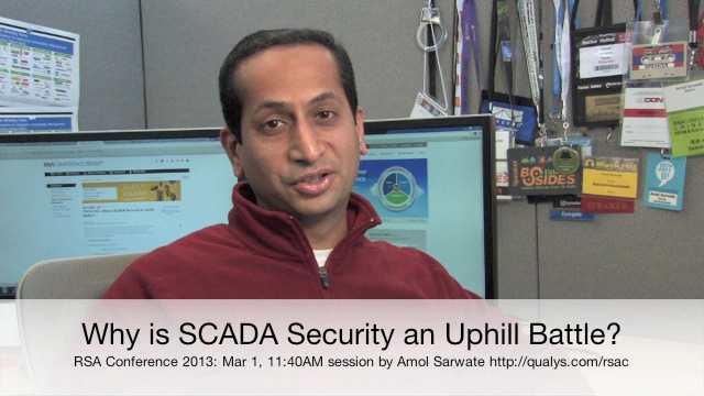 Why is SCADA Security an Uphill Battle?