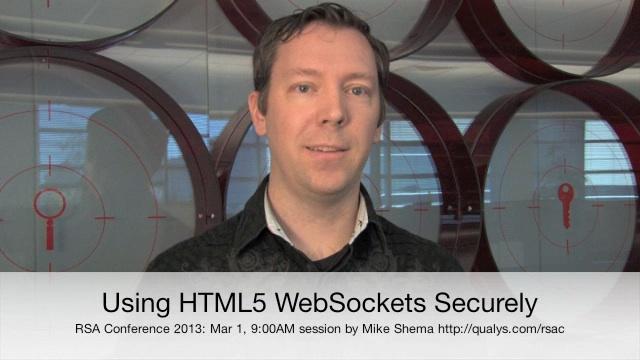 Using HTML5 WebSockets Securely