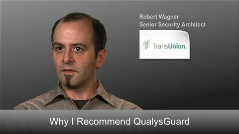 QualysGuard User Interface
